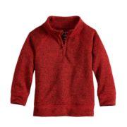 Toddler Boy Jumping Beans® Quarter Zip Sweater Fleece Pullover