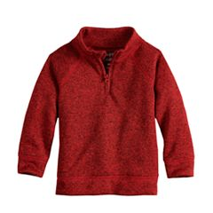 Toddler Boy Jumping Beans® Quarter Zip Sweater Fleece Pullover