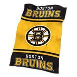 Logo Brands Boston Bruins Ultrasoft Blanket