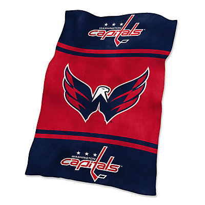 Logo Brands Washington Capitals Ultrasoft Blanket