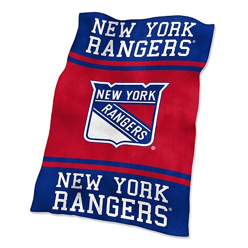 Logo Brands New York Rangers Ultrasoft Blanket