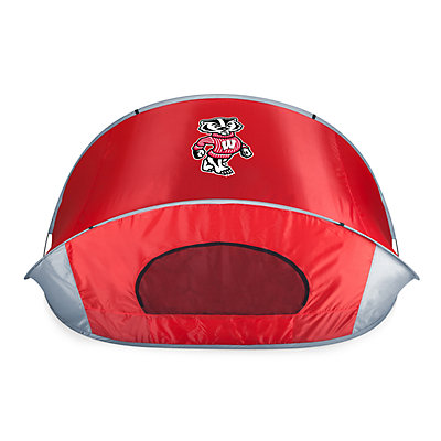 Picnic Time Wisconsin Badgers Portable Beach Tent