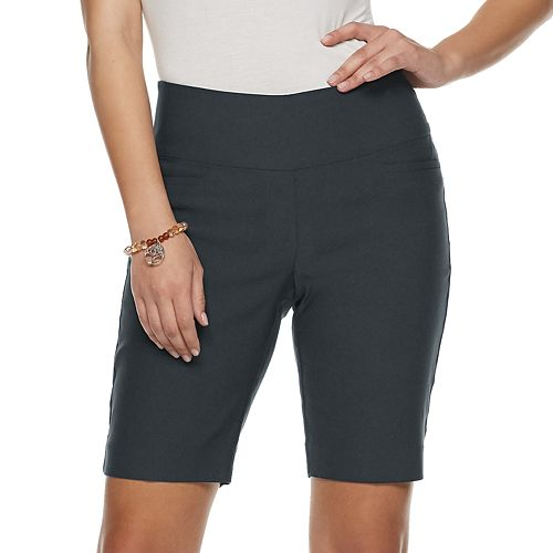 Women's Apt. 9® Tummy Control Millenium Pull-On Bermuda Short