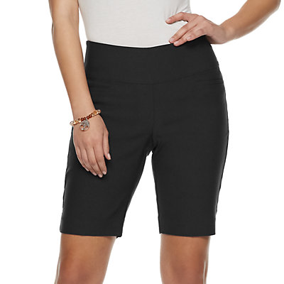 Women's Apt. 9 Tummy Control Pull-on Bermuda Short