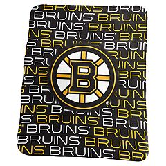 Logo Brands Boston Bruins Classic Fleece Blanket