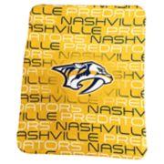 Logo Brands Nashville Predators Classic Fleece Blanket