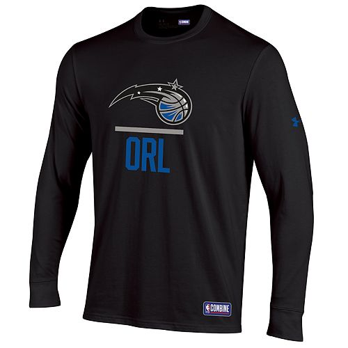 hot sale online a7cfb 7c0f2 Men's Under Armour Orlando Magic Lock Up Long-Sleeve Tee