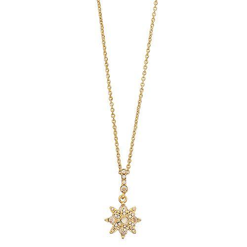Brilliance Star Pendant Necklace with Swarovski Crystals