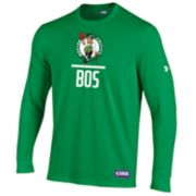 Men's Under Armour Boston Celtics Lock Up Long-Sleeve Tee