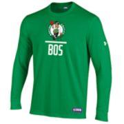 Men's Under Armour Boston Celtics Lock Up Long-Sleeve Tee
