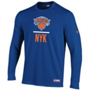 Men's Under Armour New York Knicks Lock Up Long-Sleeve Tee