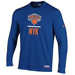 28176cbae Men s Under Armour New York Knicks Lock Up Long-Sleeve Tee