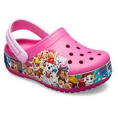 c5c99937a Girls Pink Crocs Kids Shoes
