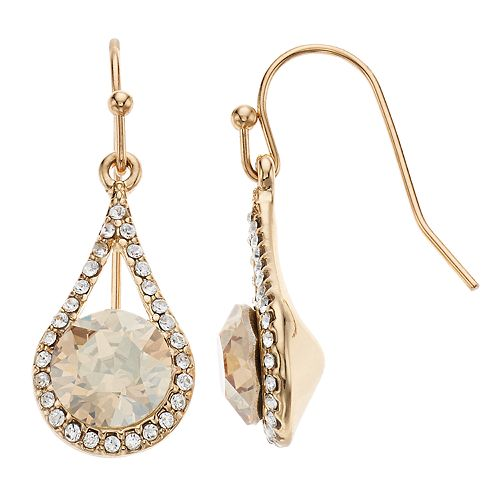 Brilliance Teardrop Earrings with Swarovski Crystal