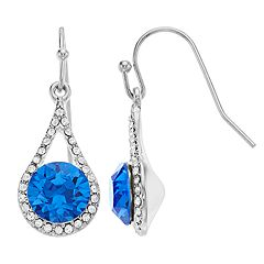 Brilliance Teardrop Earrings with Swarovski Crystal