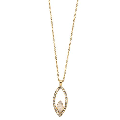 Brilliance Marquise Pendant Necklace with Swarovski Crystal