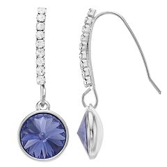 Brilliance Drop Earrings with Swarovski Crystal