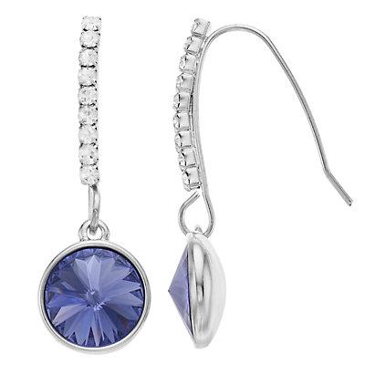 Brilliance Drop Earrings with Swarovski Crystal