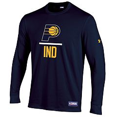 Men's Under Armour Indiana Pacers Lock Up Long-Sleeve Tee