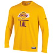 Men's Under Armour Los Angeles Lakers Lock Up Long-Sleeve Tee