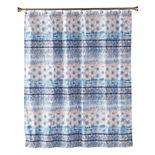 Saturday Knight, Ltd. Balinese Fabric Shower Curtain