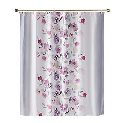 Saturday Knight, Ltd. Garden Mist Fabric Shower Curtain
