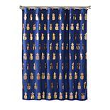 Saturday Knight, Ltd. Gilded Pineapple Fabric Shower Curtain