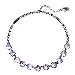 Simply Vera Vera Wang Purple Statement Necklace