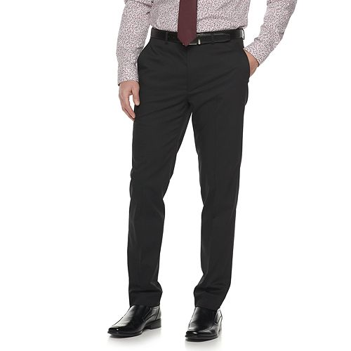 Men's Apt. 9® Extra-Slim Flat-Front Suit Pants