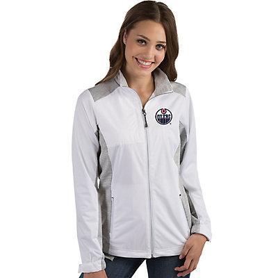 Women's Antigua Edmonton Oilers Revolve Jacket