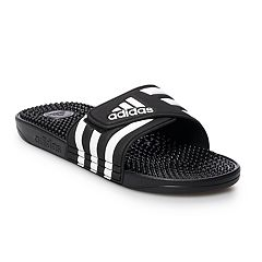 2bb729f79 adidas Adissage Men s Slide Sandals. Black White White Metallic. sale.   24.99
