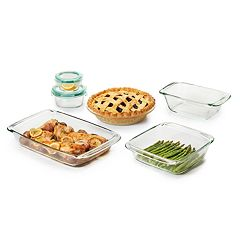 OXO Good Grips 8-pc. Glass Bake, Serve & Store Set