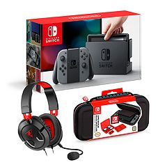 Nintendo Switch Bundle with Turtle Beach Gaming Headset & RDS Travel Case