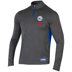 Men's Under Armour Philadelphia 76ers Authority Pullover
