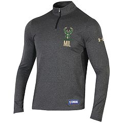 Men's Under Armour Milwaukee Bucks Authority Pullover