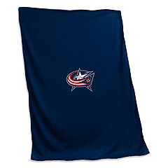 Logo Brands Columbus Blue Jackets Sweatshirt Blanket