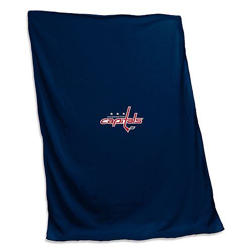 Logo Brands Washington Capitals Sweatshirt Blanket