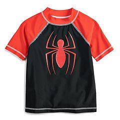 Boys 4-7 Marvel Spider-Man Rash Guard