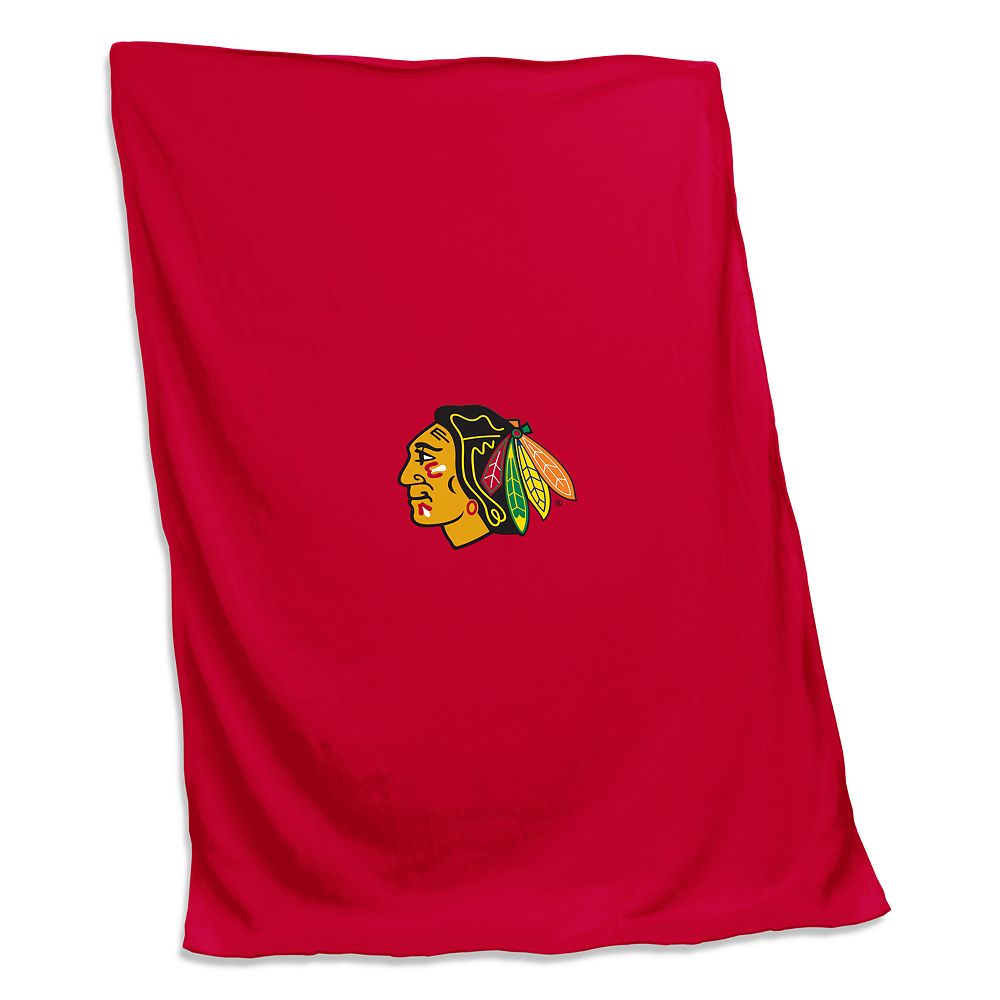 Logo Brands Chicago Blackhawks Sweatshirt Blanket