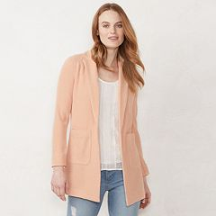 Women's LC Lauren Conrad Textured Shawl Collar Blazer