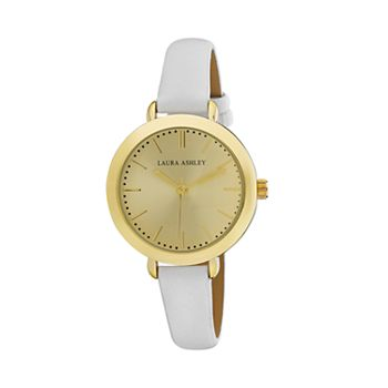 Laura Ashley Women's Signature Leather Watch