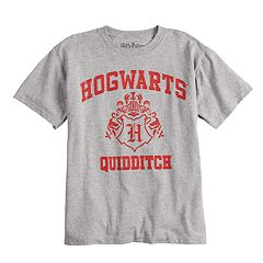 018405203 Boys 4-7 Harry Potter Hogwarts Quidditch Graphic Tee