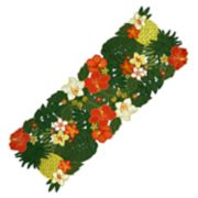 """Celebrate Summer Together Tropical Cut-Out Table Runner - 36"""""""