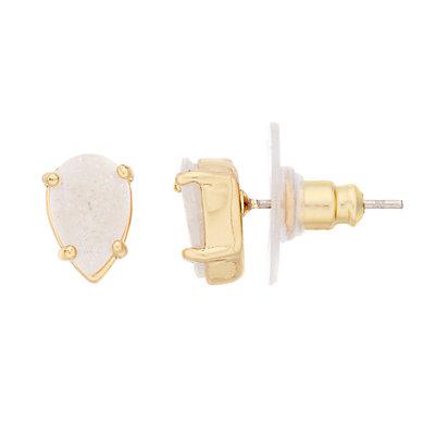 LC Lauren Conrad Nickel Free Cubic Zirconia Teardrop Stud Earrings