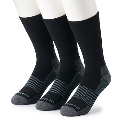 Men's Copper Fit 3-pack Crew Socks