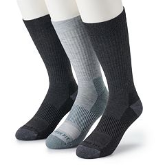 Men's Copper Fit 3-pack Crew Socks