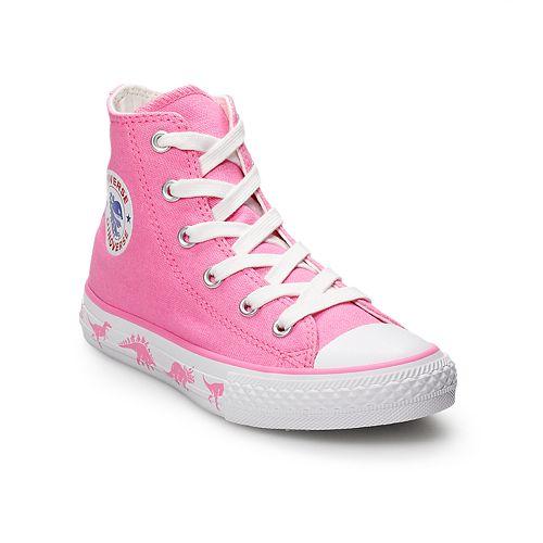 fca5b811cdab Converse Chuck Taylor All Star Dino Girls  High Top Shoes