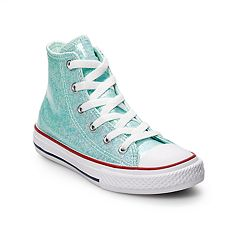 dc9eef35d2a Girls  Converse Chuck Taylor All Star Encapsulated Glitter High Top Shoes