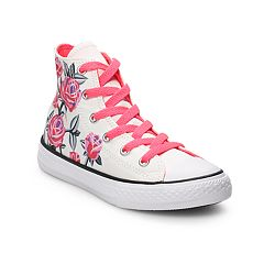 Converse Chuck Taylor All Star Girls  Floral High Top Shoes 1d7dac191