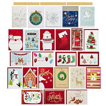 Hallmark Handmade Assortment 24 Count Christmas Boxed Cards Kohls
